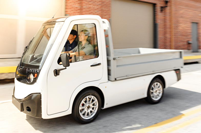 Electric Utility Truck