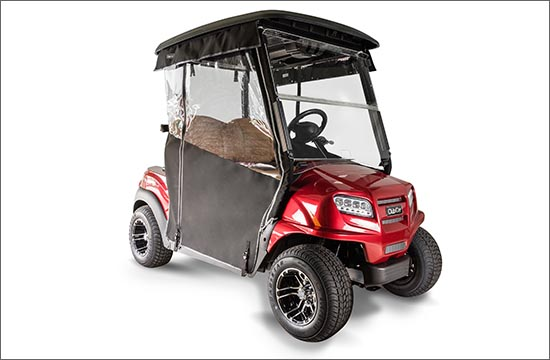 2 passenger golf cart enclosure