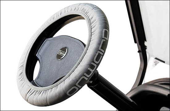 Silver Steering Wheel Cover