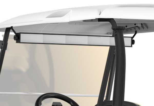 5 panel rear view mirror for golf cart