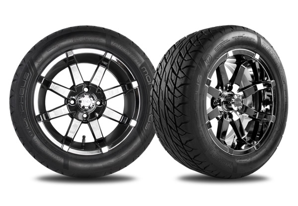 Aerion 14 inch wheels black chrome