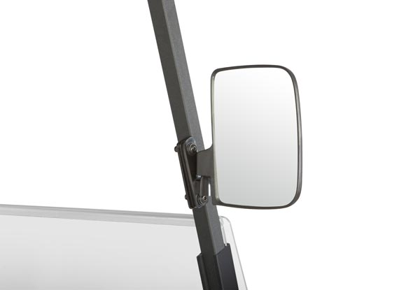 Golf Cart Side Mirrors with No-Drill Attachment