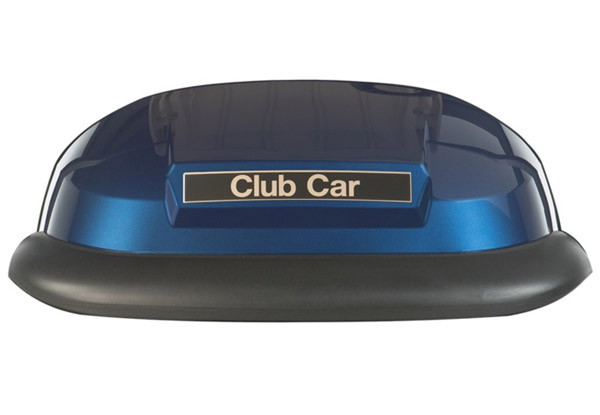 Precendent metallic blue body panel