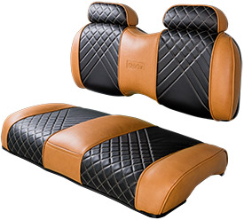 Tan Brown Front High Back Seat sm