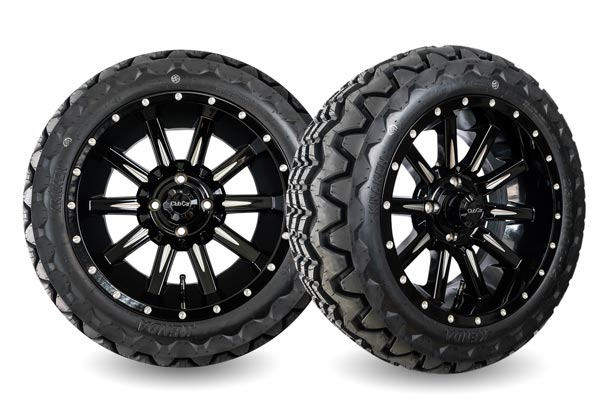 Zeus 14 inch wheels gloss black