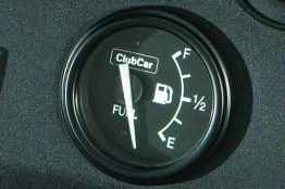 Fuel Gauge Golf Accessory