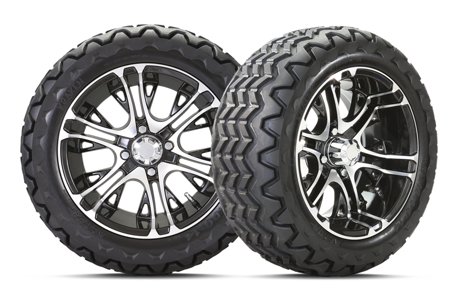 "14"" wheels and tires for golf cart"