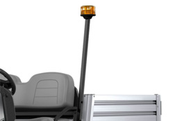 Strobe light on cab | Commercial utility vehicle accessory