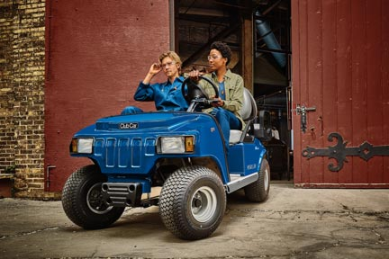 Carryall 100 electric UTV | small utility vehicle