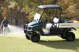 Carryall 1500 2WD turf utility vehicles for golf course maintenance