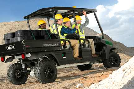 CarryAll 1700 4WD Construction
