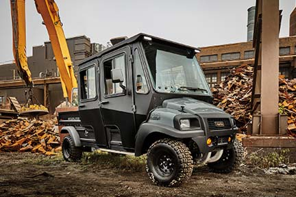 Carryall 1700 4x4 utility vehicle with diesel power