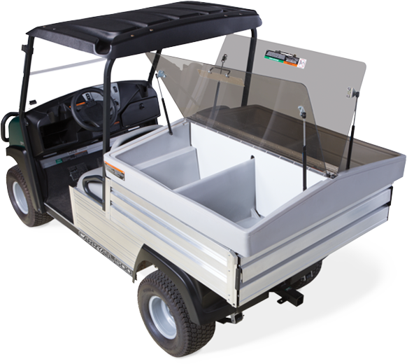 work utility vehicle PRC club car carryall 500 prc