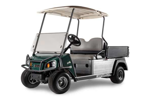 Carryall 502 slim utility vehicle for rental fleets