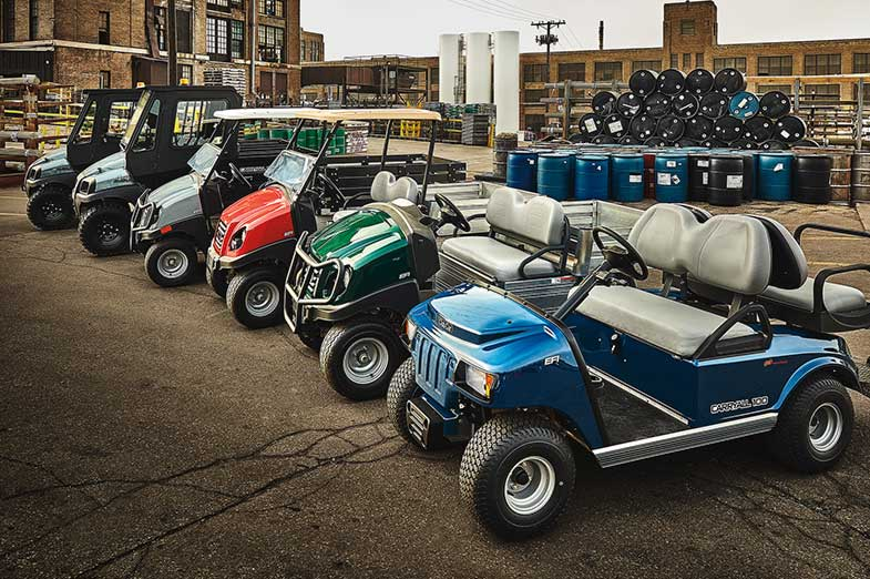 Utility golf carts and work utvs