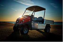 Golf course utility vehicle callout carryall 500 turf