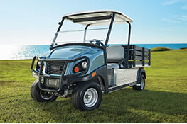 Golf course utility vehicle callout carryall 700 turf