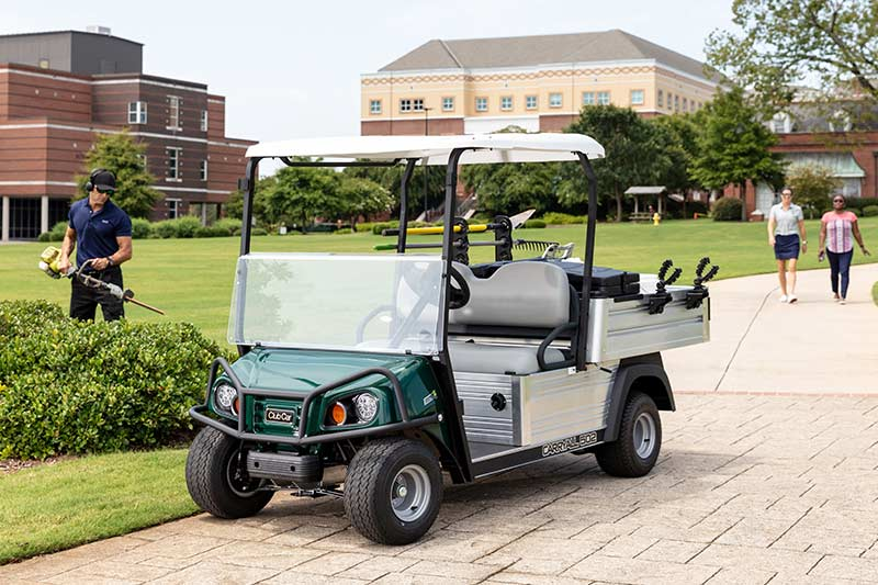 Golf course utility vehicle Carryall 502 facilities maintenance