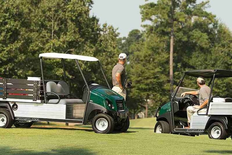 Vehículo utilitario de campo de golf Carryall 700 de Club Car