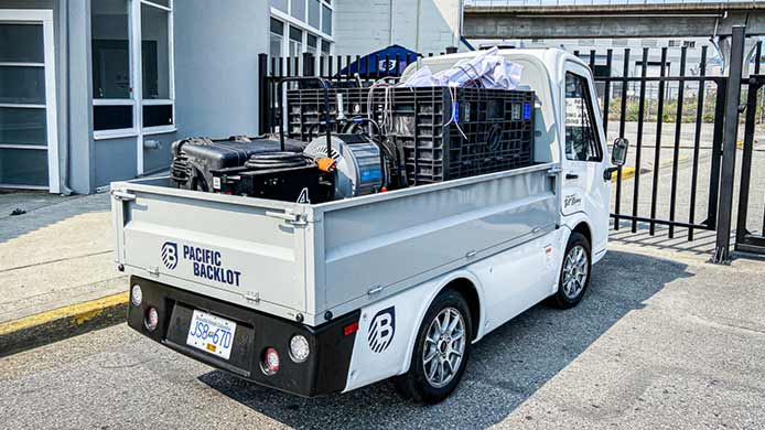 411 Electric Work Truck