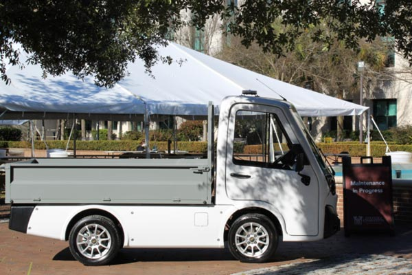 Utility Vehicle for Campus Transportation and Facilities Maintenance