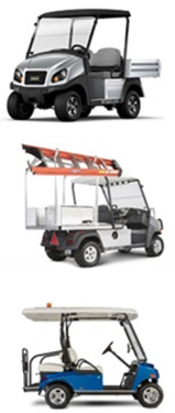golf carts and utility vehicles