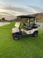 Tempo Lithium Ion golf cart at Oak Quarry