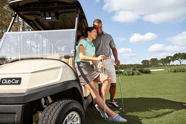 Golf Club Member Private Cart