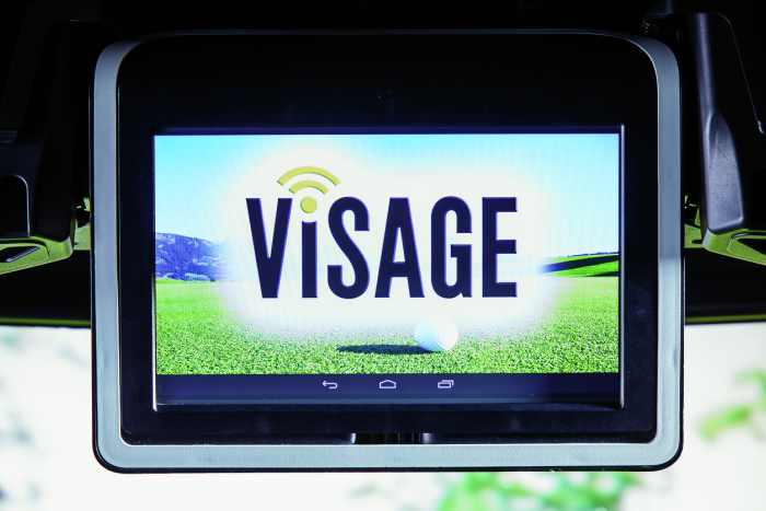 Visage fleet management for golf courses, gps fleet tracking