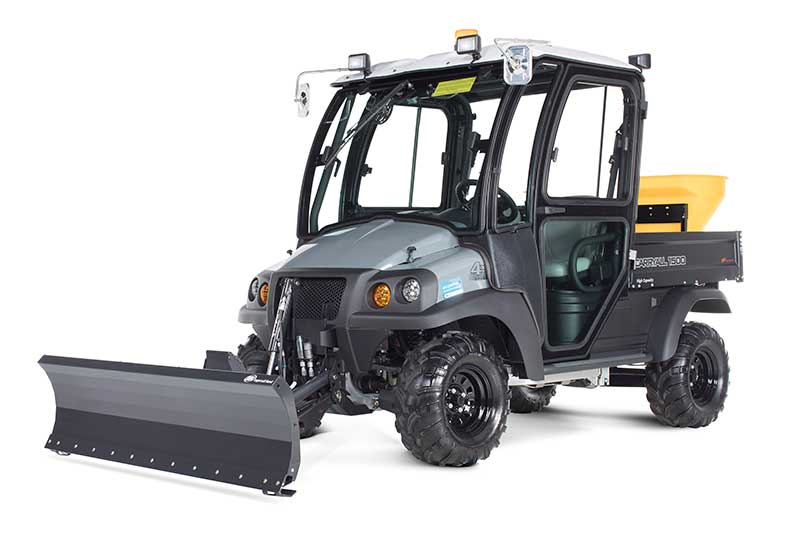 custom utility vehicle (UTV) for snow removal