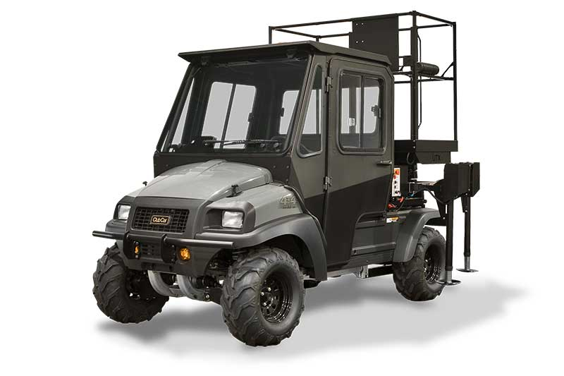 custom scissor lift utility vehicle (UTV)
