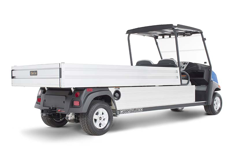 Custom Solutions Carryall 900 grounds maintenance vehicle with extra long bed PR