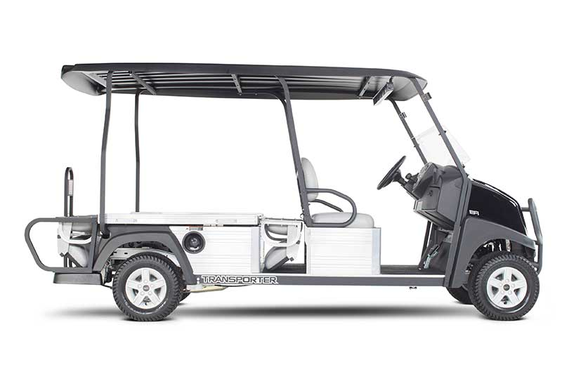 Custom Solutions Carryall transporter dual flip seat down utility vehicle PP