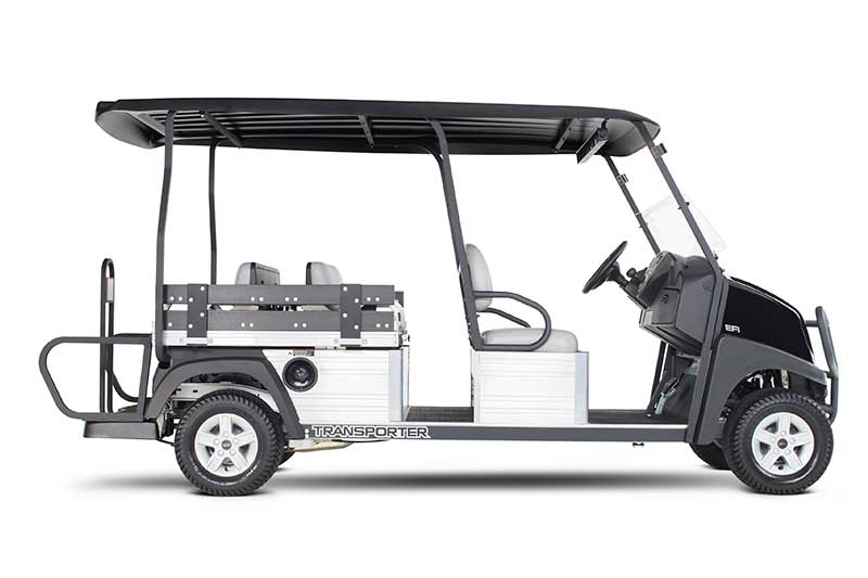 Custom Solutions Carryall transporter dual flip seat up utility vehicle PP