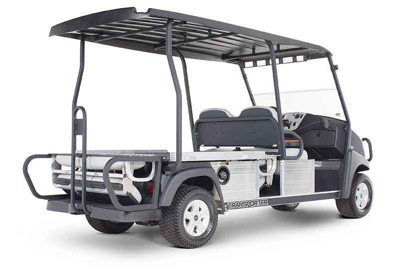 Custom Solutions Carryall transporter dual flip seat utility vehicle PR