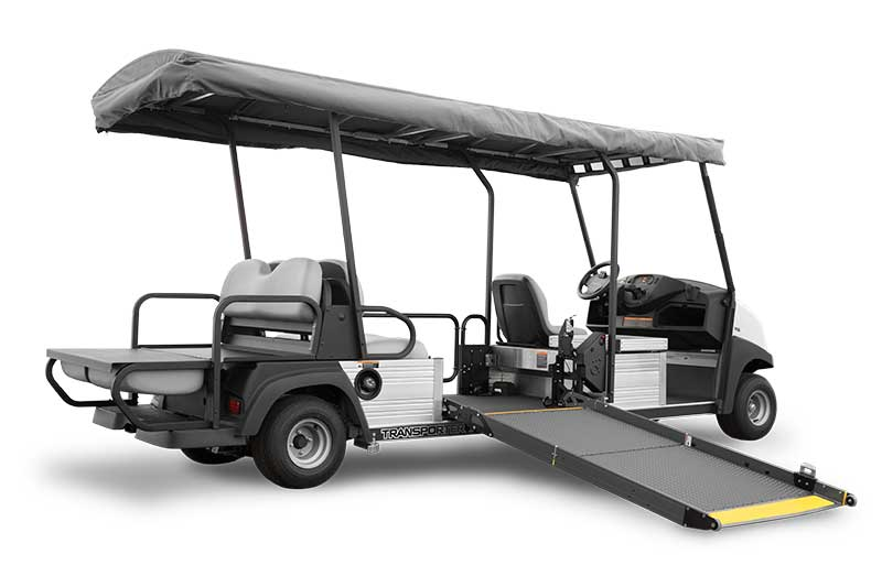 custom ADA transportation utility vehicle (UTV)