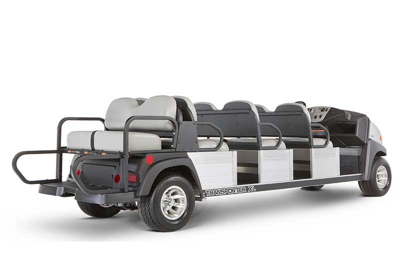 Custom Solutions Carryall transporter XL utility vehicle seat up