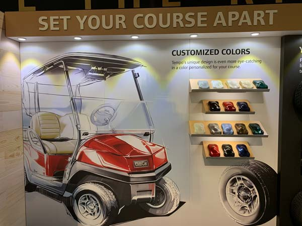 Club Car at the PGA Show 12