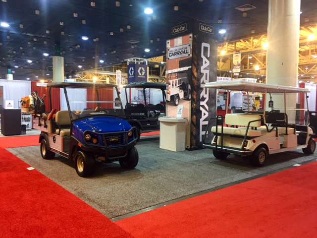 2018 American Rentals Association show | Club Car booth