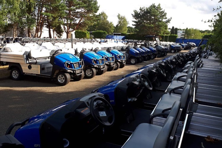 Club Car Golf and Turf Fleet Vehicles