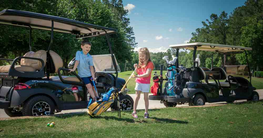 Club Car and US Kids Golf announced a new partnership