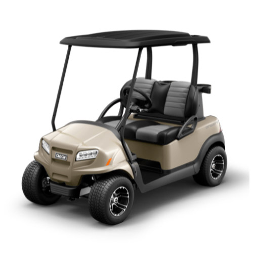 2 Passenger Onward Golf Cart Metallic Beige