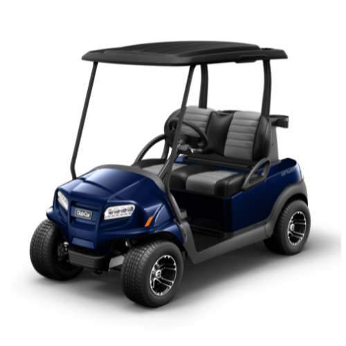 2 Passenger Onward Golf Cart Metallic Blue Onyx