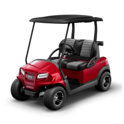 2 Passenger Onward Golf Cart Metallic Candy Apple Red
