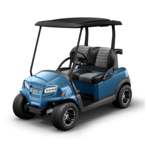 2 Passenger Onward Golf Cart Metallic Ice Blue