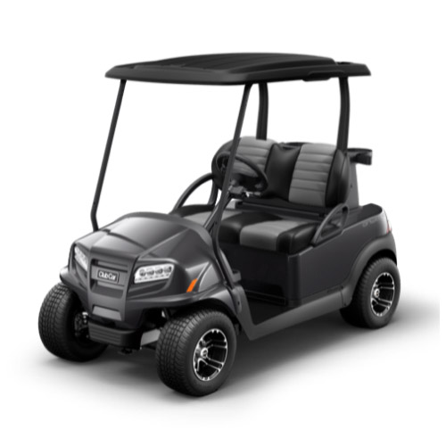 2 Passenger Onward Golf Cart Metallic Midnight Silver