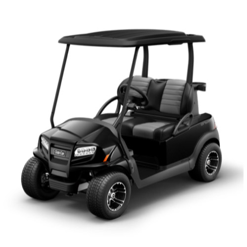 2 Passenger Onward Golf Cart Metallic Tuxedo Black