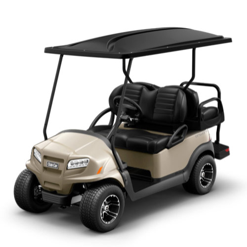 Beige golf cart paint