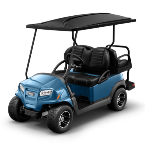 Light blue golf cart paint