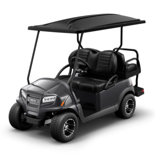Charcoal golf cart paint
